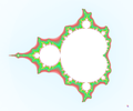 the full Mandelbrot set.